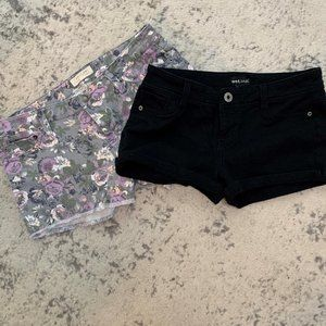 F 21 Wet Seal Shorts Lot of 2 27 M